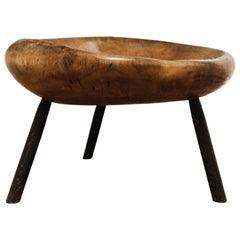 Walnut Stool/Table