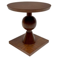 Walnut Sur Side Table by Lawson-Fenning, in Stock