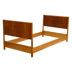 Walnut TH Robsjohn-Gibbings Daybed for Widdicomb, USA, 1960s