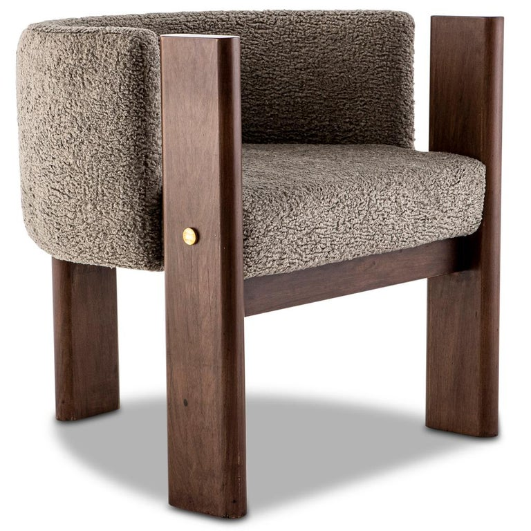 The Malta dining room chair designed by Egg Designs and manufactured in South Africa works equally well as a lounge or side chair.