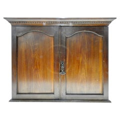 Walnut Wall Cabinet, Early 20th Century