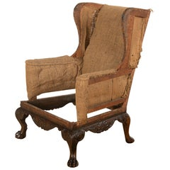 Walnut Wingback Gainsborough Armchair
