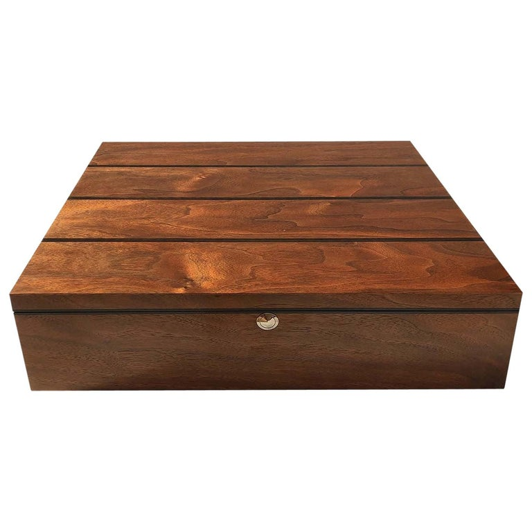 Walnut Wood Box For Sale