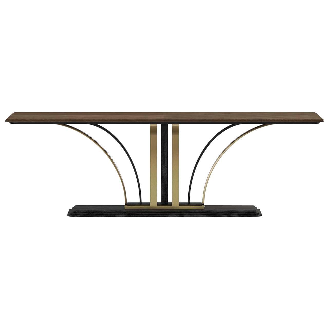 Walnut Wood Rectangular Dining Table