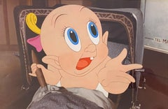 Walt Disney Production Cel from Who Framed Roger Rabbit featuring Baby Herman