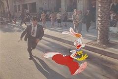 Walt Disney Who Framed Roger Rabbit? Production Cel Roger Rabbit & Eddie Valiant