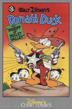 1987 Walt Disney 'Walt Disney's Donald Duck' Advertising USA Offset Lithograph