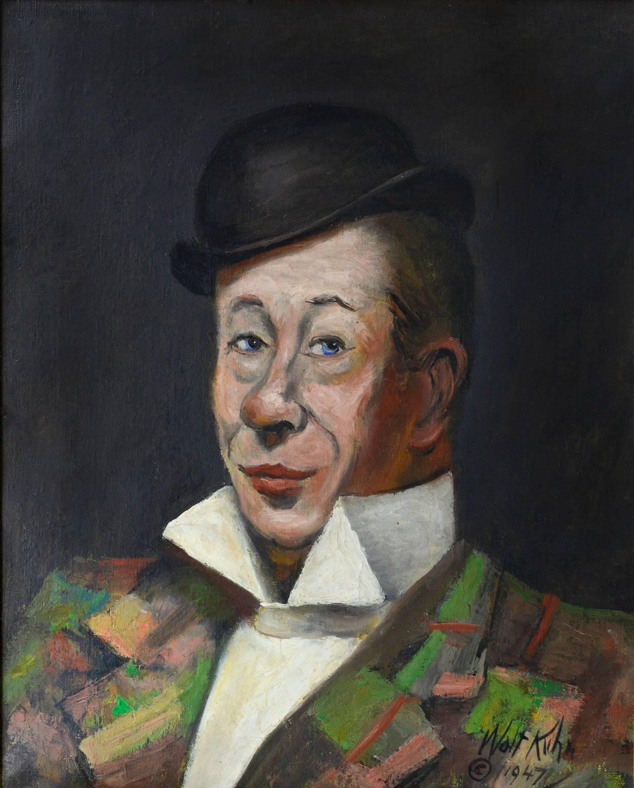 Portrait of Bert Lahr -  Circus Performer - Modernism