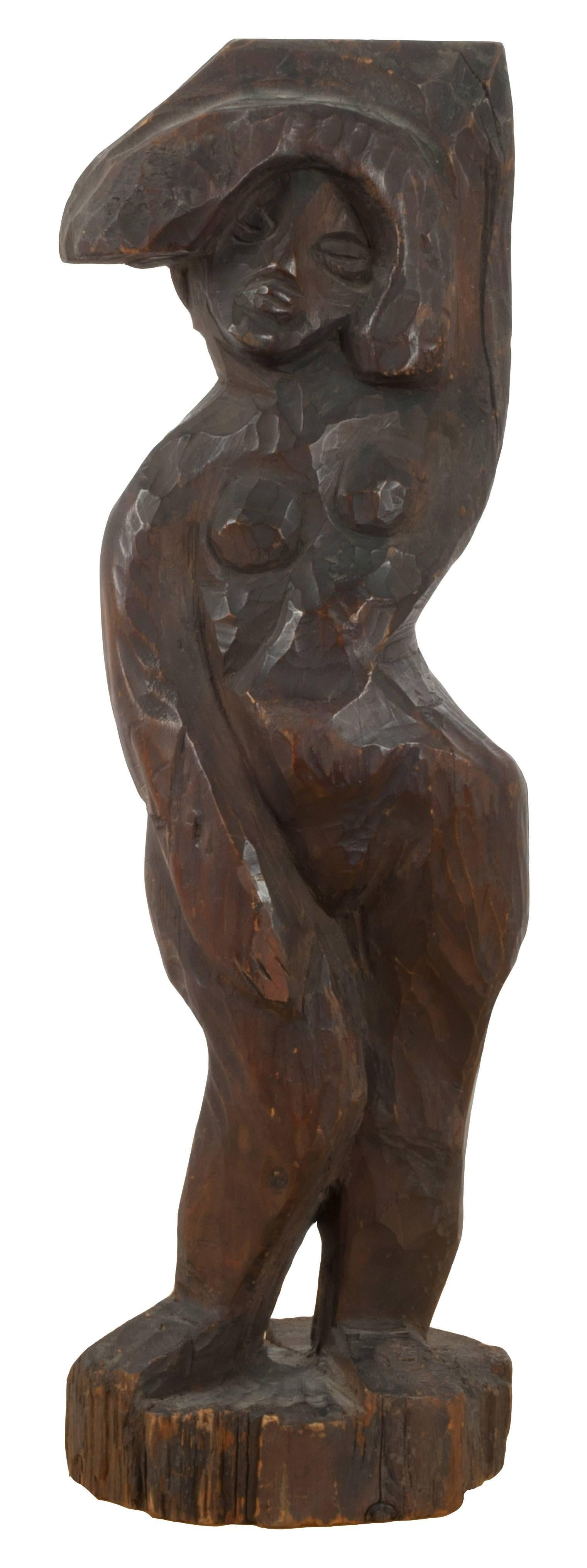 Standing Female Nude After Alexander Archipenko Negress (La Negresse)