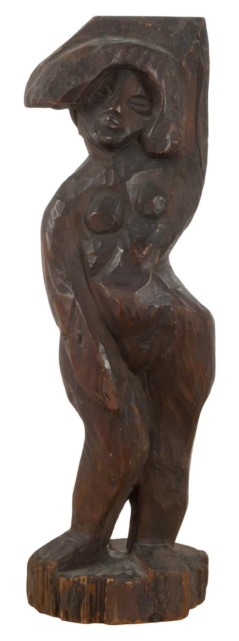 Walt Kuhn Nude Sculpture - Standing Female Nude After Alexander Archipenko Negress (La Negresse)