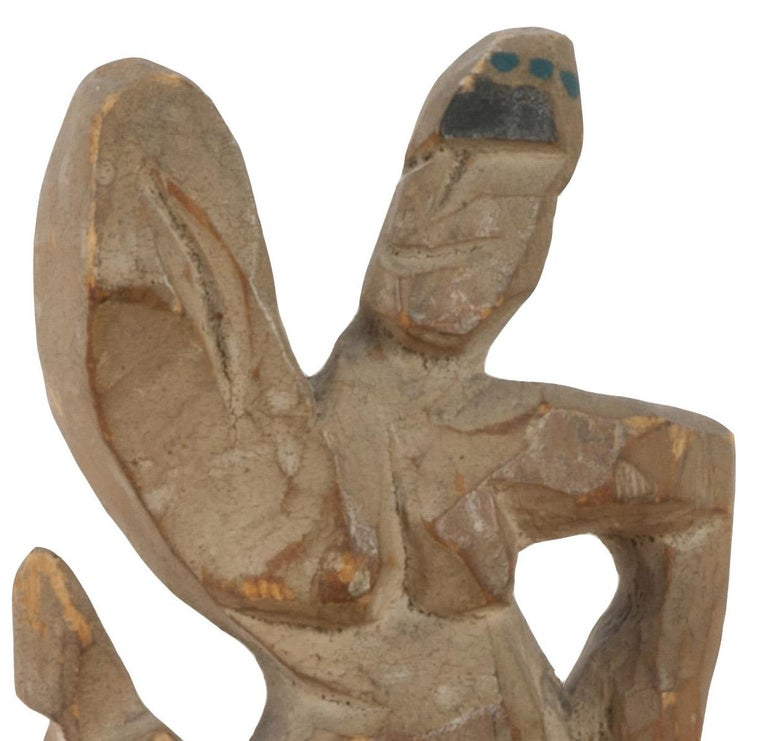 untitled (Dancing Figure) - Sculpture by Walt Kuhn