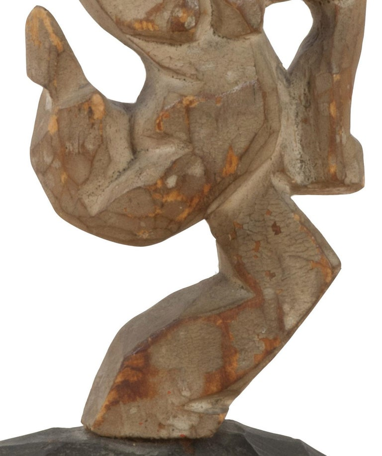 untitled (Dancing Figure) - Abstract Sculpture by Walt Kuhn