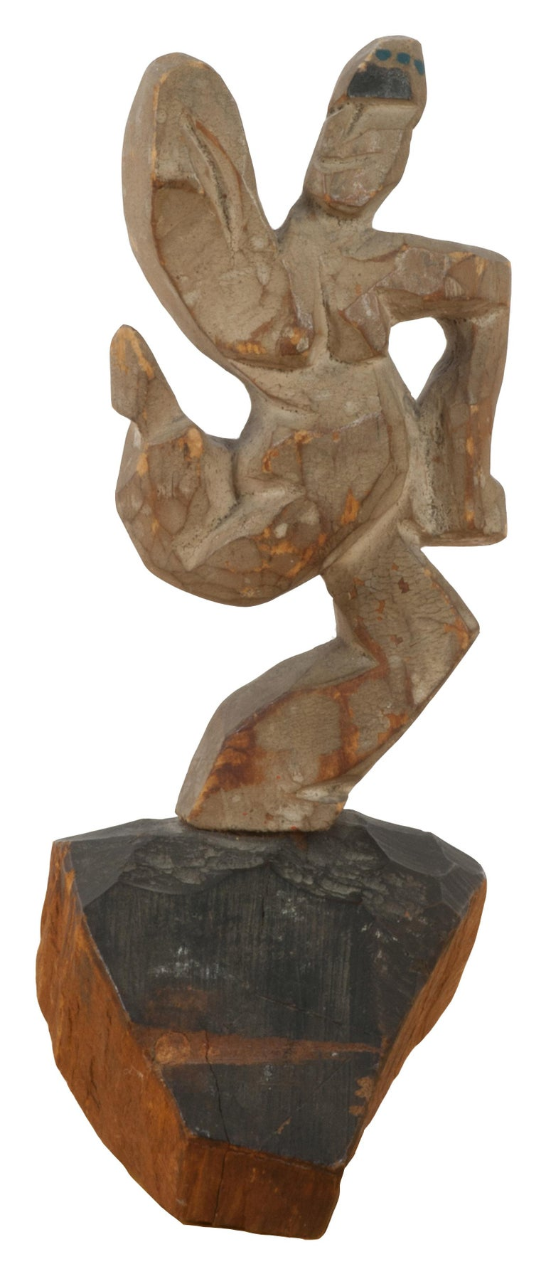 Walt Kuhn Figurative Sculpture - untitled (Dancing Figure)
