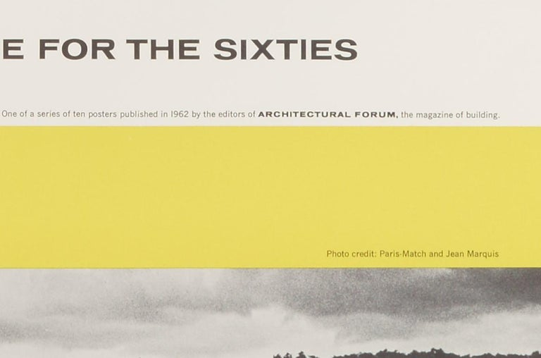 Great Architecture for the Sixties –La Tourette by Le Corbusier - Modern Print by Walter Allner