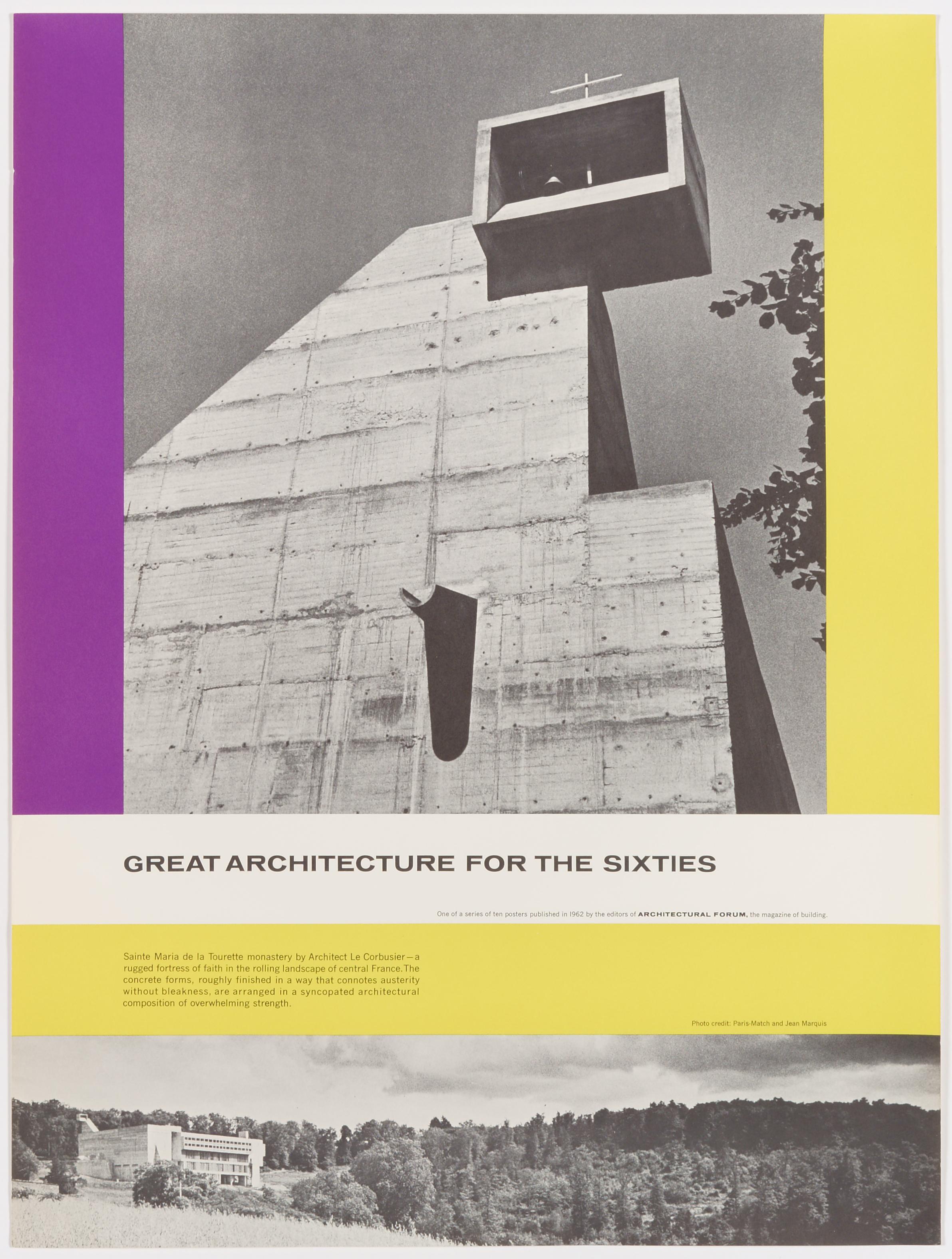 Great Architecture for the Sixties –La Tourette by Le Corbusier