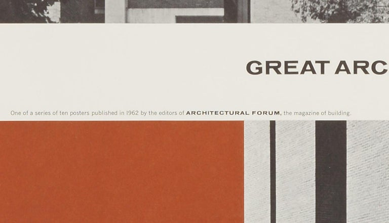 Great Architecture for the Sixties –Medical Research Building by Louis Kahn - Print by Walter Allner