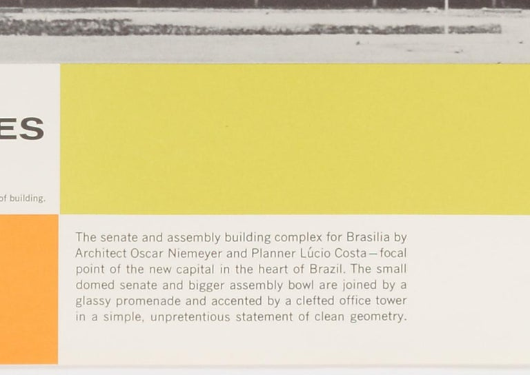 Great Architecture for the Sixties –Oscar Niemeyer's complex in Brasilia - Modern Print by Walter Allner