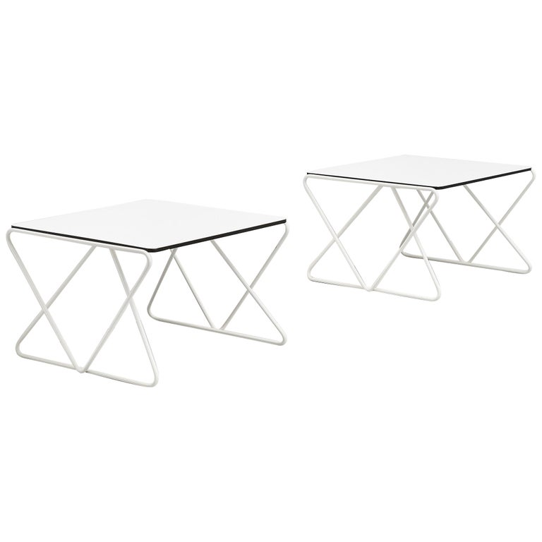 Walter Antonis Side Tables for I-Form Holland, 1978 For Sale