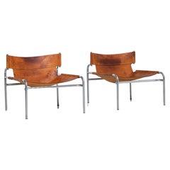 Walter Antonis SZ12 lounge chairs 't Spectrum, Holland, 1971