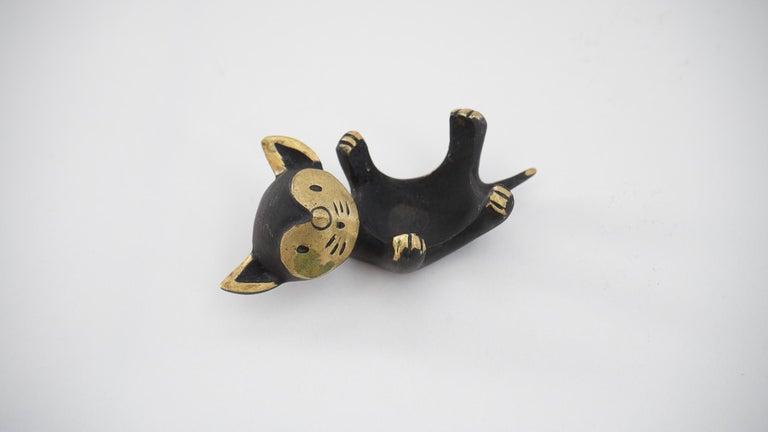 Austrian Walter Bosse Candleholder 'cat' 'Marked' For Sale