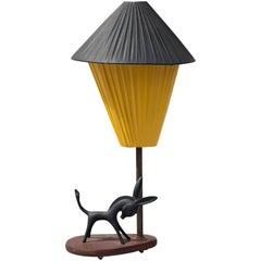 Walter Bosse Donkey Table Lamp, 1950s