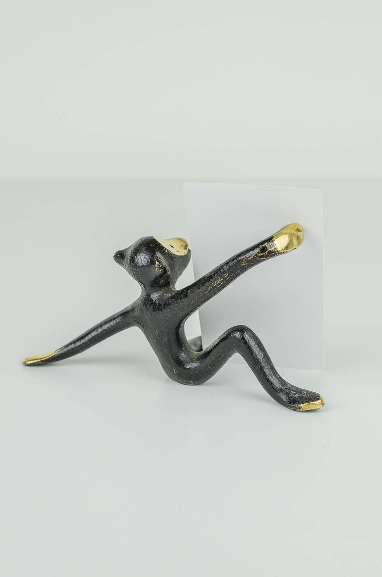 Walter Bosse Monkey Business Card Holder In Excellent Condition For Sale In Wien, AT