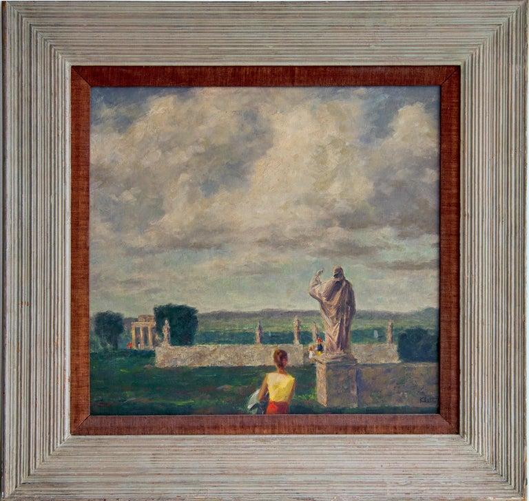 Walter Charles Klett Landscape Painting - Environs of Rome