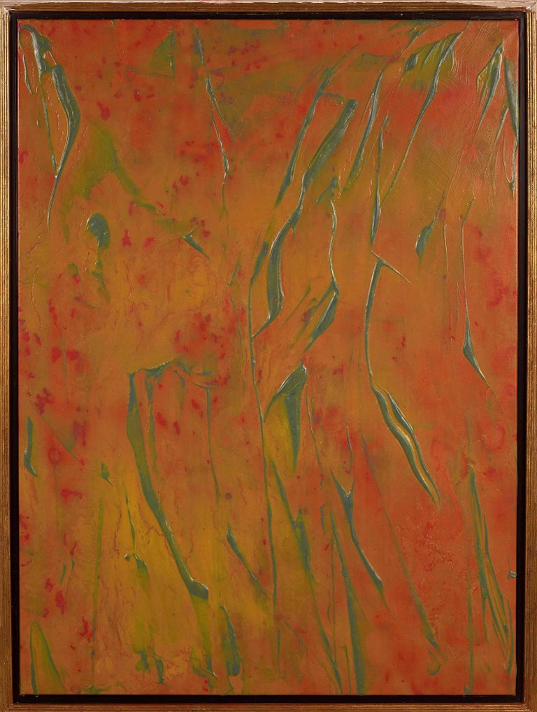 Walter Darby Bannard Abstract Painting - Glass Mountain Fireball