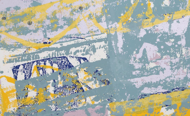 Sicilian Magician, Abstract Silkscreen by Walter Darby Bannard For Sale 1