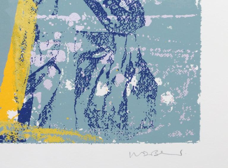 Sicilian Magician, Abstract Silkscreen by Walter Darby Bannard For Sale 3