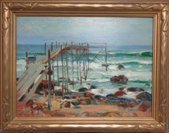 American Impressionist Oil Painting Walter Granville Smith Salmagundi Club NYC
