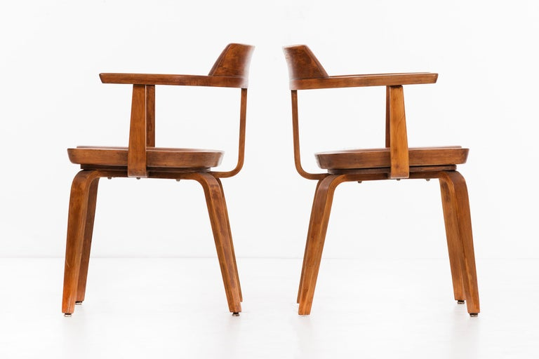 Walter Gropius Set of Eight Armchairs For Sale 2