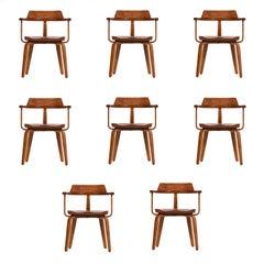Walter Gropius Set of Ten-Armchairs