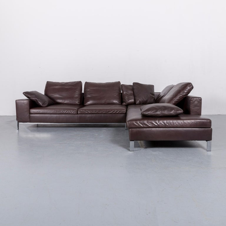 Brilliant Walter Knoll Foster Leather Corner Sofa Brown Bei 1Stdibs Bralicious Painted Fabric Chair Ideas Braliciousco