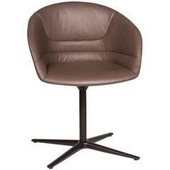 Walter Knoll Kyo Ledear Armchair Brown Chair