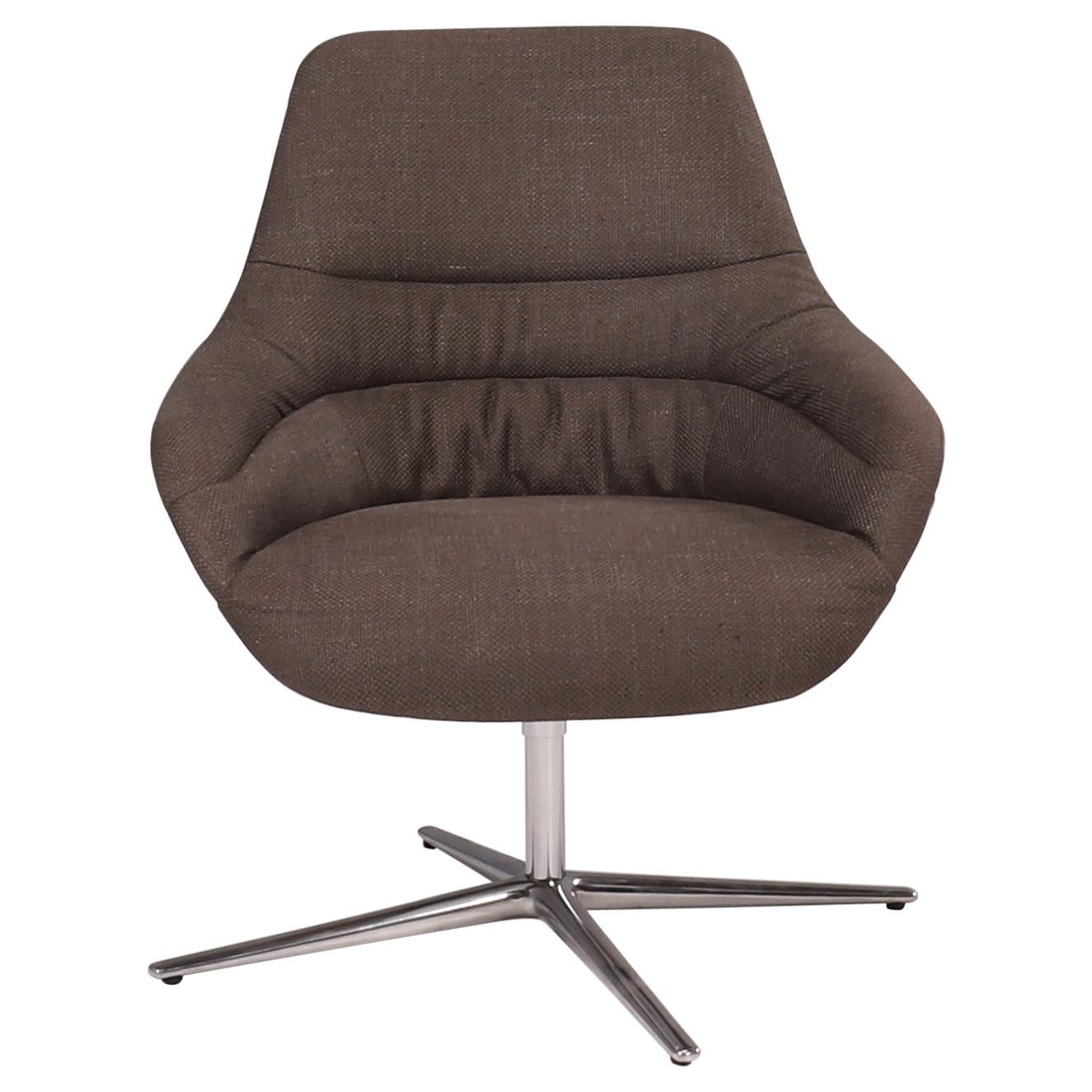 Walter Knoll 'Kyo' Upholstered Lounge Chair by PearsonLloyd