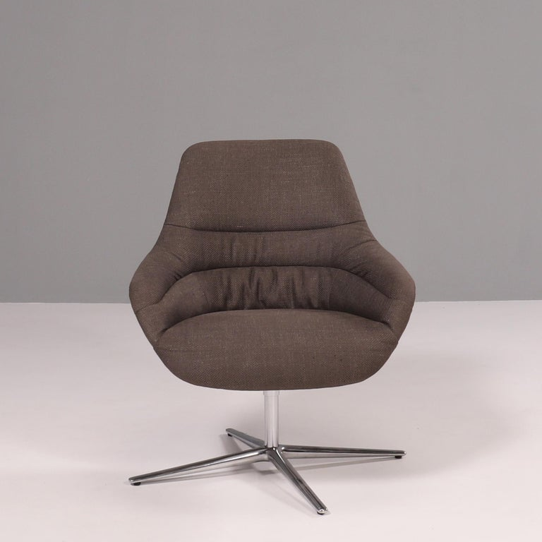 German Walter Knoll 'Kyo' Upholstered Lounge Chairs by PearsonLloyd, Set of 2 For Sale