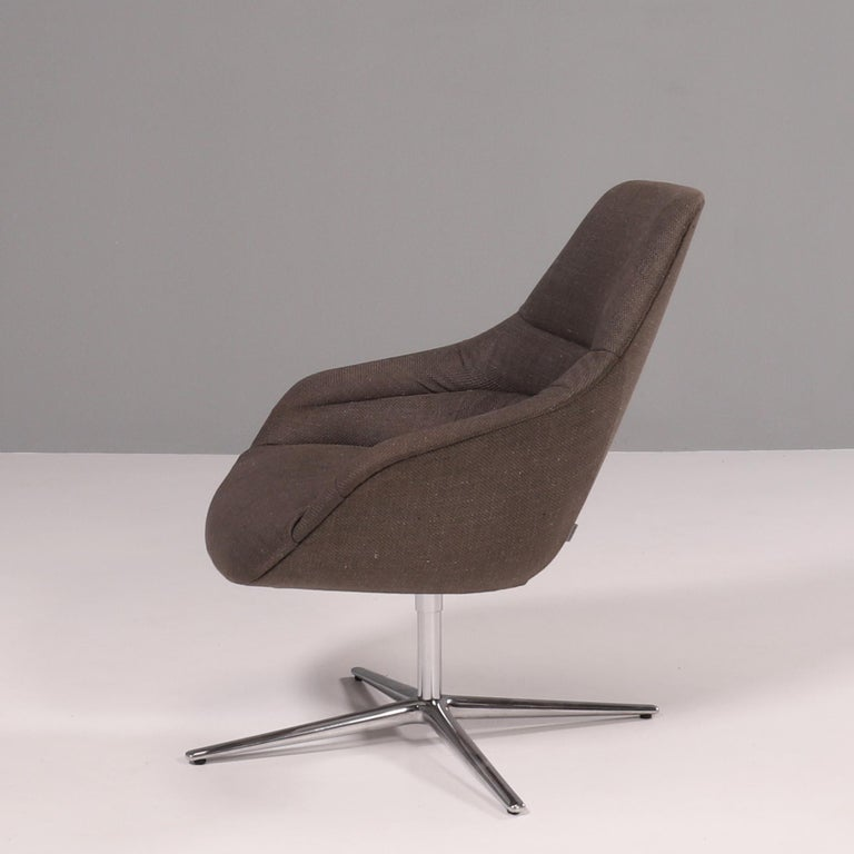 Walter Knoll 'Kyo' Upholstered Lounge Chairs by PearsonLloyd, Set of 2 In Good Condition For Sale In London, GB