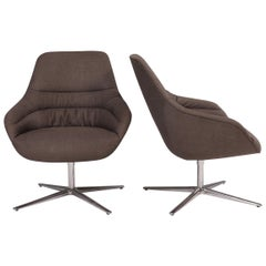 Walter Knoll 'Kyo' Upholstered Lounge Chairs by PearsonLloyd, Set of 2