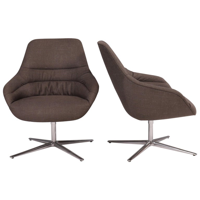 Walter Knoll 'Kyo' Upholstered Lounge Chairs by PearsonLloyd, Set of 2 For Sale