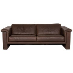 Walter Knoll Leather Sofa Brown Two-Seat