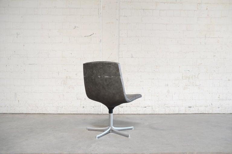 Walter Knoll Logos Neckleather Chair Bernd Münzebrock For Sale 4