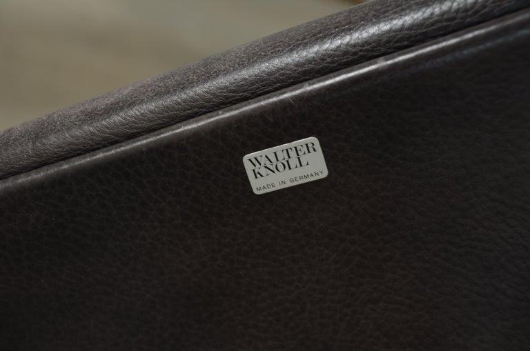 Walter Knoll Logos Neckleather Chair Bernd Münzebrock For Sale 6