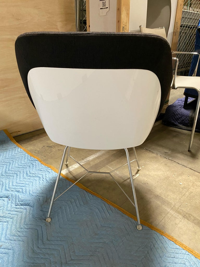 Walter Knoll Turtle Chair In Good Condition For Sale In New York, NY