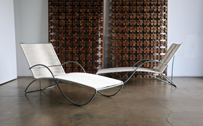 Walter Lamb Chaise Lounges Model C-4700, circa 1960 For Sale 3