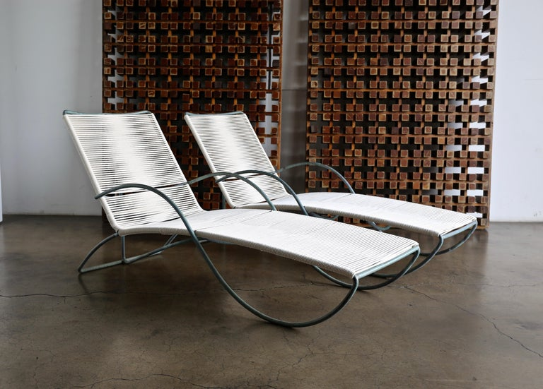 Walter Lamb Chaise Lounges Model C-4700, circa 1960 For Sale 4