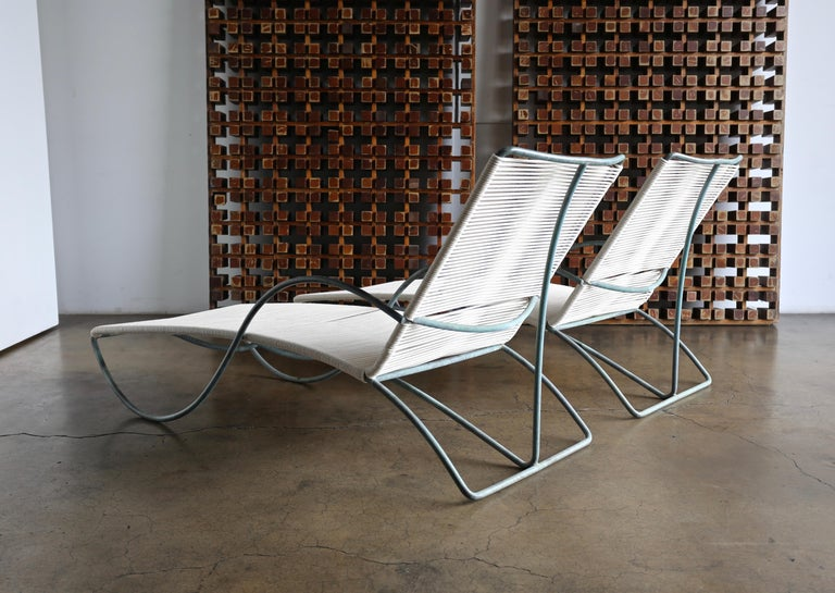 Walter Lamb Chaise Lounges Model C-4700, circa 1960 For Sale 6