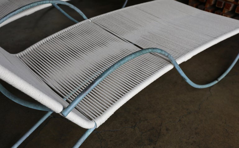 Walter Lamb Chaise Lounges Model C-4700, circa 1960 For Sale 11