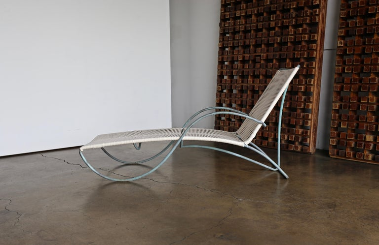 Bronze Walter Lamb Chaise Lounges Model C-4700, circa 1960 For Sale