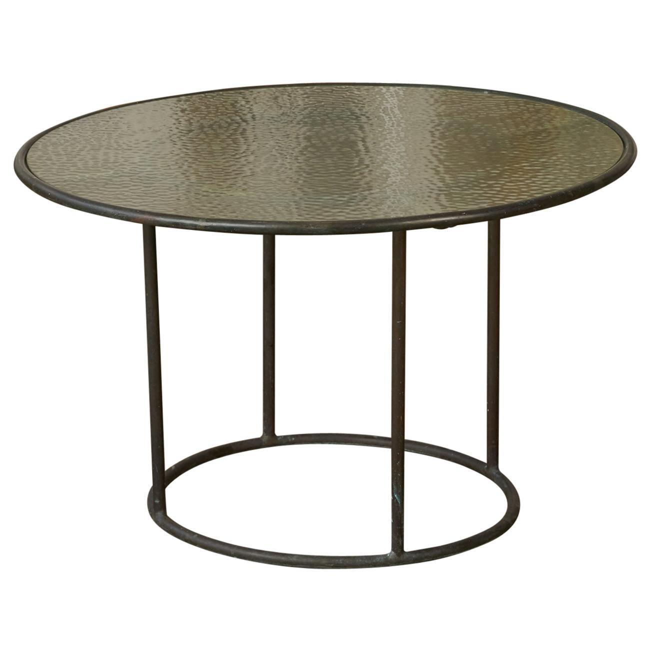 Walter Lamb for Brown Jordan Bronze Patio Coffee Table